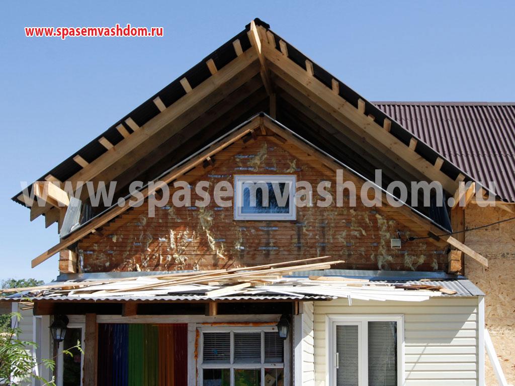Добудова мансардного поверху у будинку 3
