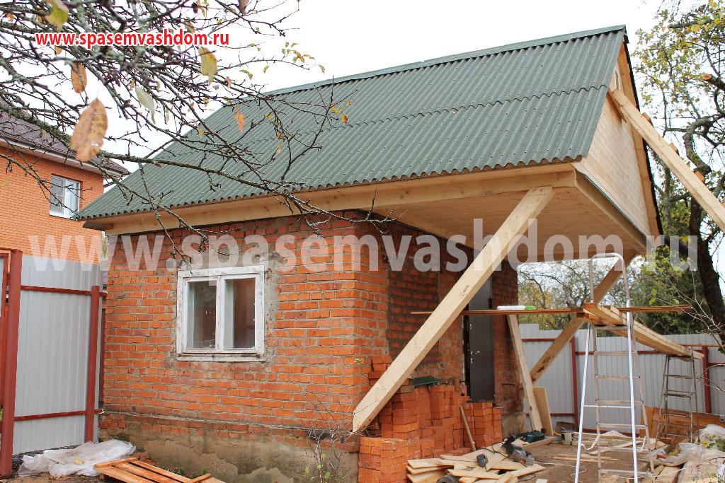 Достроить второй этаж на даче